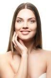 Retrato de uma fêmea bonita Imagem de Stock Royalty Free