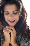 Retrato de uma jovem mulher Imagem de Stock Royalty Free