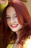 Retrato de uma jovem mulher bonita Fotografia de Stock Royalty Free