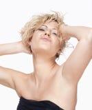 Retrato de uma jovem mulher sedutor Fotos de Stock