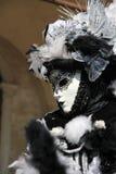 Retrato de uma máscara do carnaval Fotografia de Stock