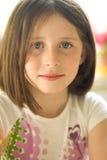 Retrato de uma menina Fotografia de Stock