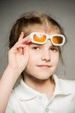 Retrato de uma menina Imagem de Stock