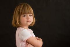 Retrato de uma menina foto de stock royalty free