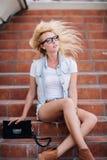 Retrato de uma menina Imagens de Stock Royalty Free