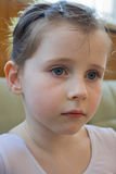 Retrato de uma menina Fotos de Stock Royalty Free
