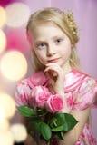 Retrato de uma menina bonita Fotografia de Stock Royalty Free