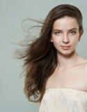 Retrato de uma menina bonita Imagens de Stock