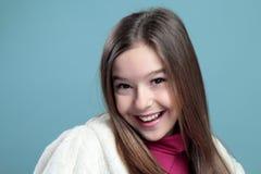 Retrato de uma menina bonita. Fotografia de Stock Royalty Free
