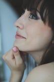 Retrato de uma menina bonita Foto de Stock Royalty Free