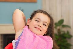 Retrato de uma menina bonito fotografia de stock