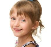 Retrato de uma menina bonito imagens de stock