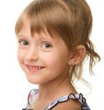 Retrato de uma menina bonito fotos de stock