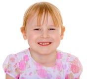 Retrato de uma menina de cabelo vermelha Imagem de Stock