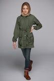 Retrato de uma menina de passeio do preteen Imagem de Stock Royalty Free