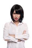 Retrato de uma menina do vamp Fotografia de Stock Royalty Free