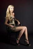 Retrato de uma moça Fotos de Stock Royalty Free