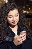 Retrato de uma moça Foto de Stock