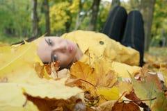 Retrato de uma mulher Fotografia de Stock