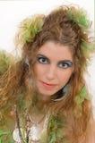 Retrato de uma mulher Fotografia de Stock Royalty Free