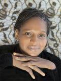 Retrato de uma mulher africana bonita, Senegal Foto de Stock