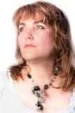 Retrato de uma mulher agradável. Foto de Stock Royalty Free