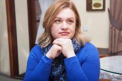 Retrato de uma mulher 40 anos Imagens de Stock