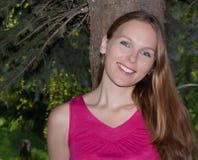 Retrato de uma mulher bonita. Fotografia de Stock Royalty Free