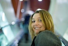 Retrato de uma mulher bonita Fotos de Stock Royalty Free