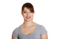 Retrato de uma mulher confiável nova imagens de stock royalty free