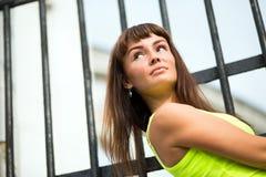 Retrato de uma mulher da beleza Imagens de Stock Royalty Free