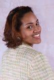Retrato de uma mulher de negócio Imagens de Stock
