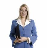 Retrato de uma mulher de negócio atrativa confiável fotos de stock royalty free