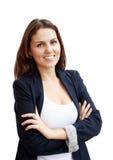 Retrato de uma mulher de negócio atrativa nova Fotos de Stock Royalty Free