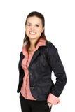 Retrato de uma mulher de negócio atrativa nova. Imagem de Stock Royalty Free