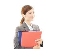 Retrato de uma mulher de negócio nova Imagens de Stock Royalty Free