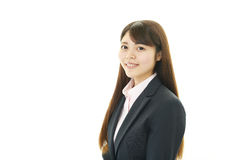 Retrato de uma mulher de negócio nova Imagem de Stock