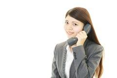 Retrato de uma mulher de negócio nova Fotos de Stock Royalty Free