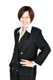 Retrato de uma mulher de negócio nova bem sucedida Imagem de Stock