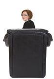 Retrato de uma mulher de negócios Foto de Stock