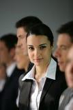 Retrato de uma mulher de negócios Imagem de Stock