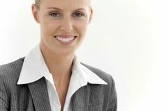 Retrato de uma mulher executiva Imagens de Stock