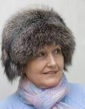 Retrato de uma mulher idosa. Imagens de Stock Royalty Free