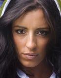 Retrato de uma mulher iraniana nova Imagem de Stock