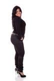 Retrato de uma mulher latin nova fotos de stock royalty free