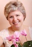 Retrato de uma mulher madura Foto de Stock Royalty Free
