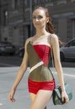 Retrato de uma mulher, modelo da rua Imagem de Stock Royalty Free