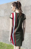 Retrato de uma mulher, modelo da rua Imagem de Stock