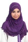 Retrato de uma mulher muçulmana imagem de stock royalty free