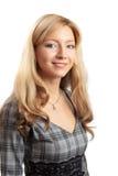 Retrato de uma mulher na carreira Foto de Stock Royalty Free